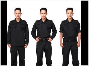 Quần áo bảo vệ màu đen